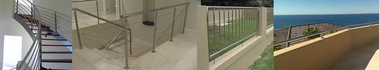stainless steel handrails and railings